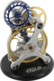 Balance-wheel and escapement model